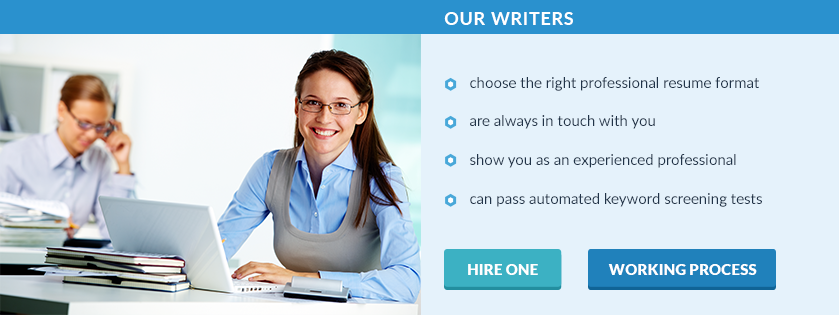 professional level resume writing with our service