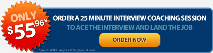 Order Interview Coaching Session Now