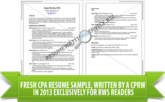 Accounting resume writing services