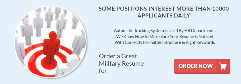 military resume writing from leading resume writing service