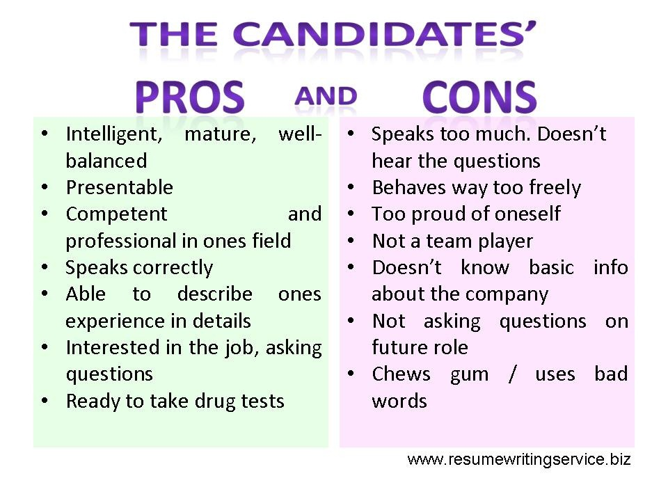 candidates dos and don ts resume writing service