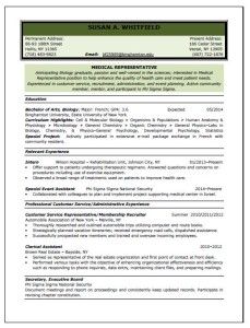 Medical Resume Writing Service