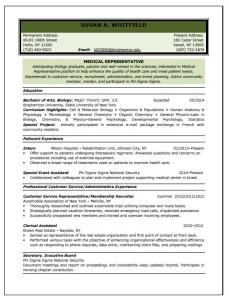 UAE Resume Format