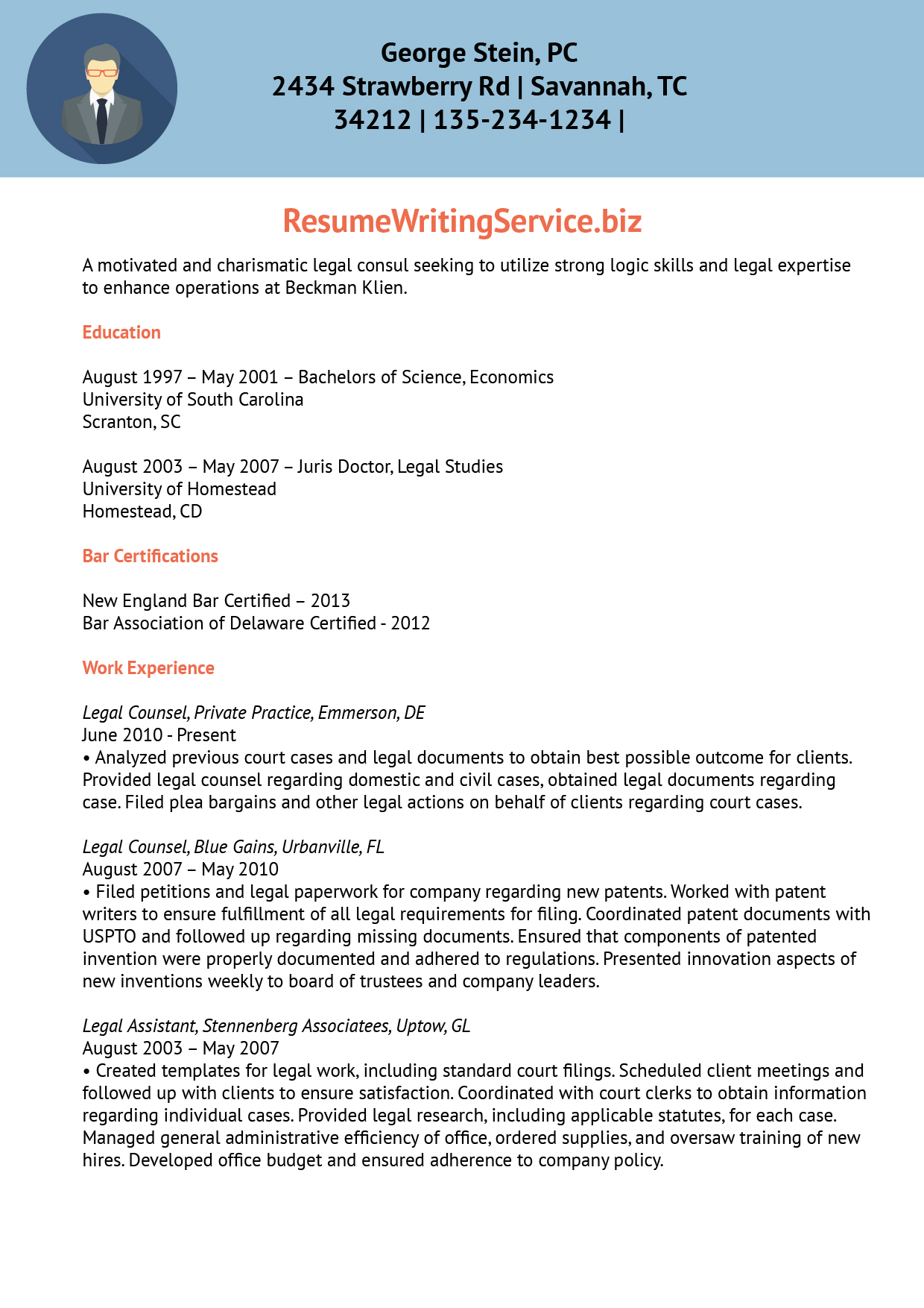 Legitimate healthcare resume writing service