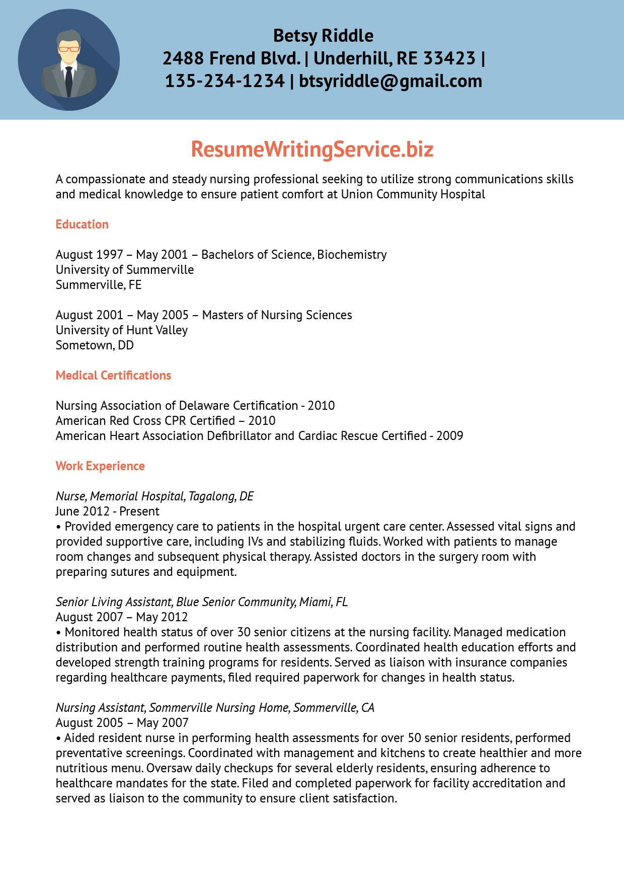5 tips on how to make your nursing resume stand out