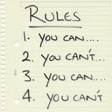 resume writing rules