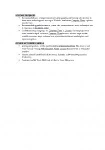 Exclusive Resume Pack Sample_Resume_part2