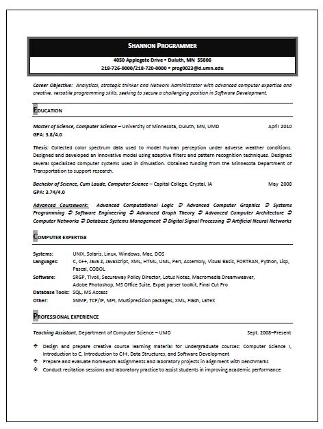 craft the top quality computer technician resume