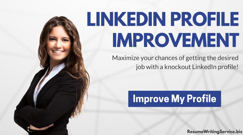 help to improve linkedin profile