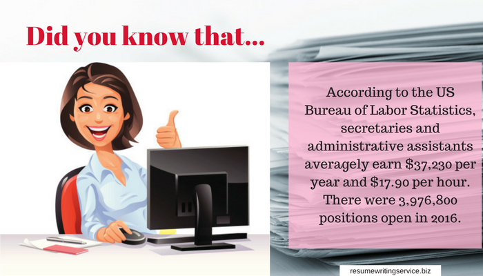 administrative assistant career facts