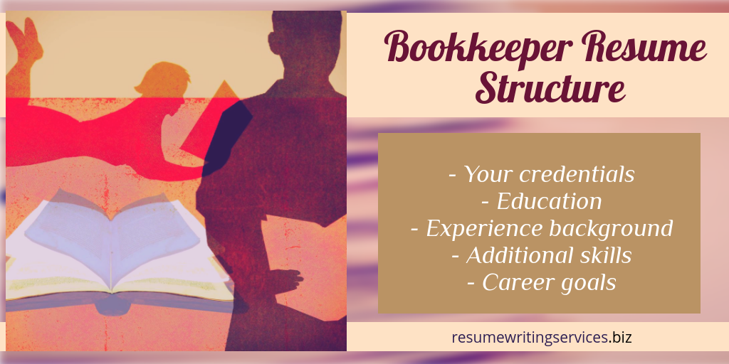 resume for bookkeeper structure tips