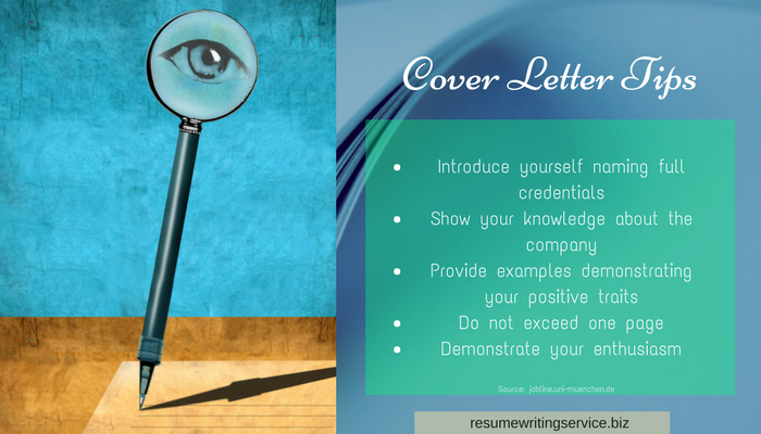 tips for a perfect cover letter