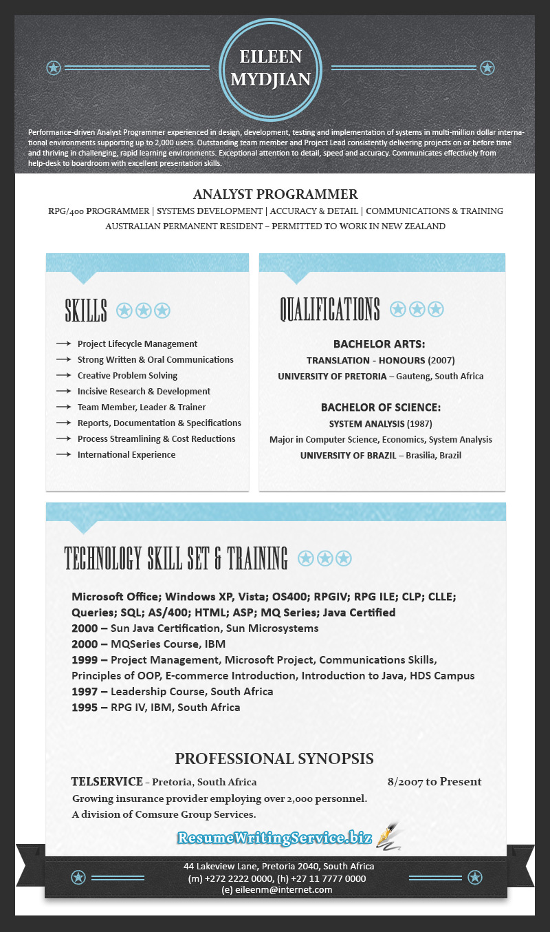 Best resume writing services 2014 australia