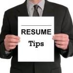 Refresh Resume Tips