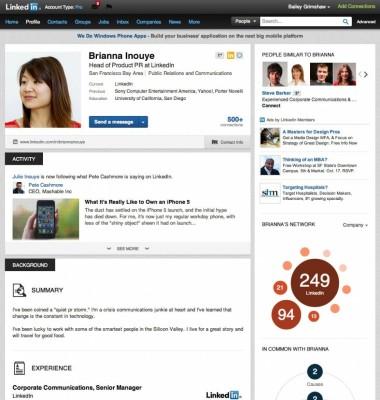 amazing linkedin profiles