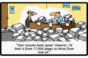 how to make a short resume