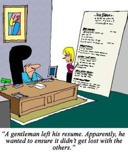 how to write a short resume