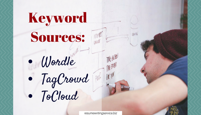 keywords for resumes sources
