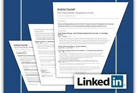 LinkedIn and resume