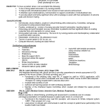 critical care registered nurse resume sample