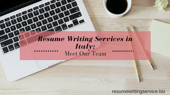 #1 resume writing services in italy