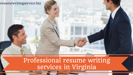 Affordable professional resume writing services in virginia