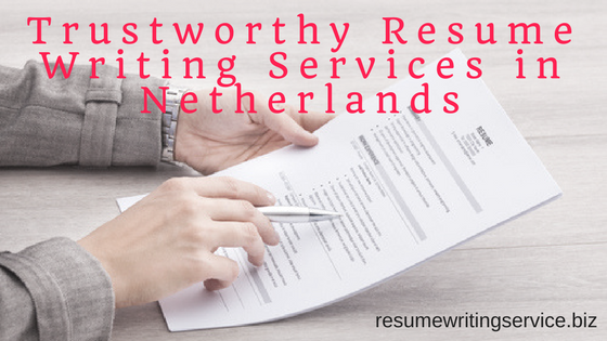 Affordable resume writing services in the netherlands