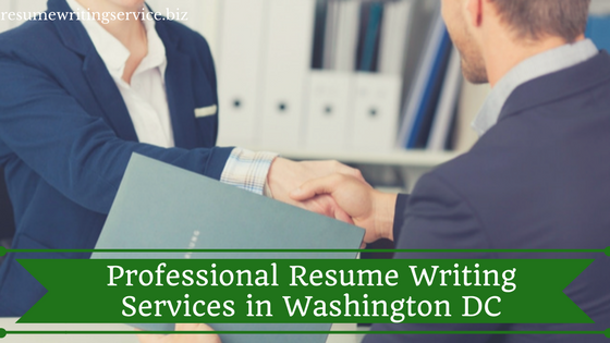Professional resume writing services dc