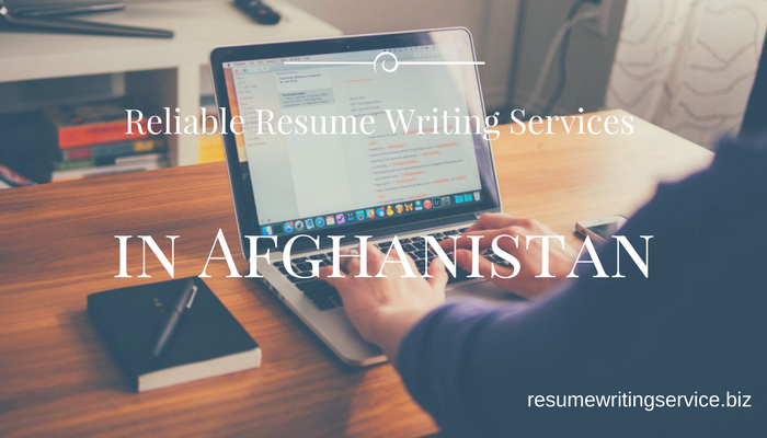 resume writing services in afghanistan