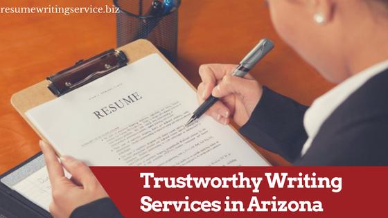 arizona experianced resume experts
