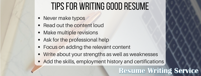 do my resume writing tips
