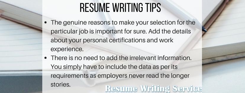 help me write my resume tips