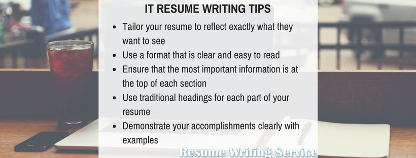 Why Use Our IT Resume Writing Services?