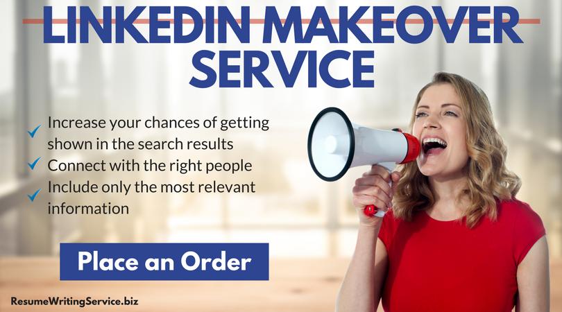 LinkedIn makeover service