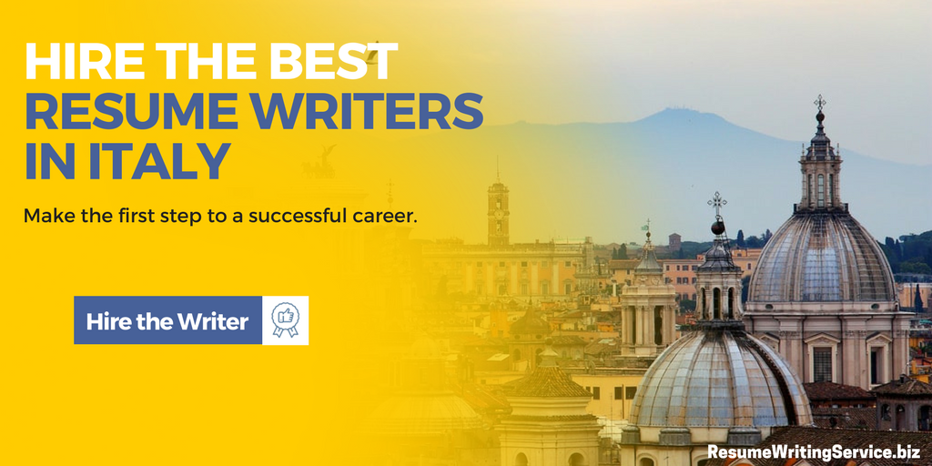 best resume writers italy