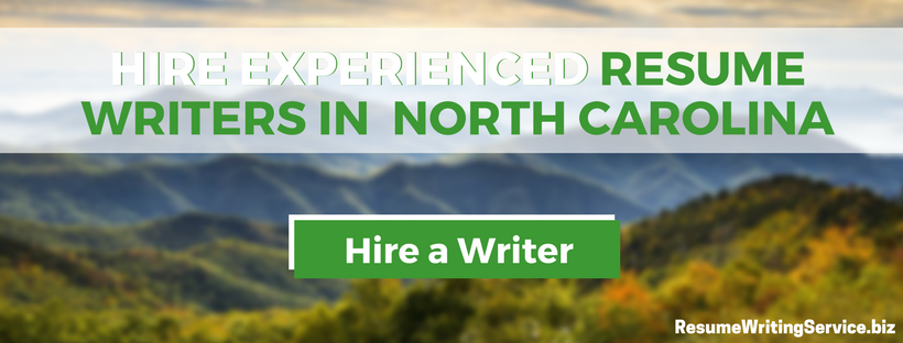 find local professional resume writers nc