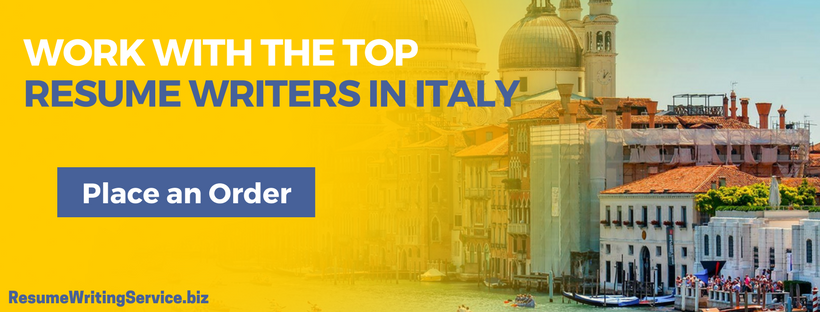 hire resume writers italy