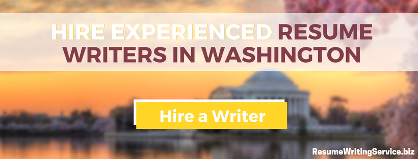 hire resume writers washington dc