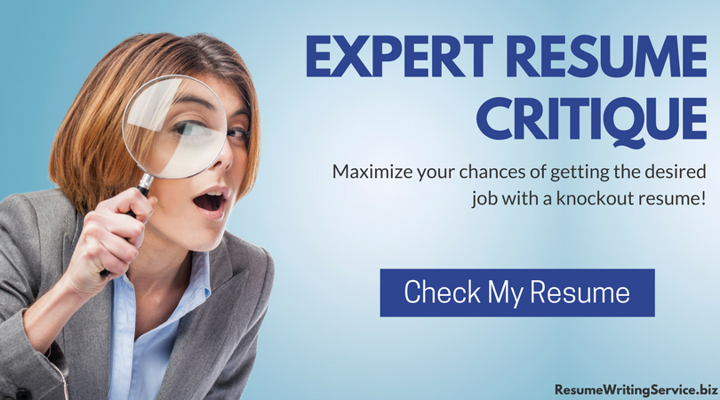 online resume review service