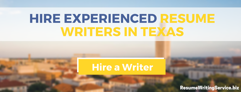 professional resume writers in texas
