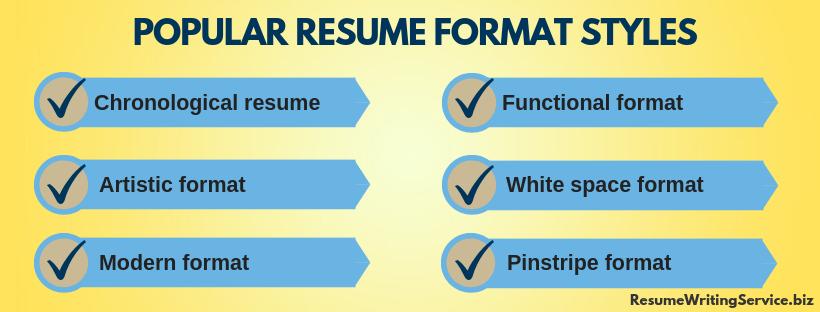 popular 2019 resume trends