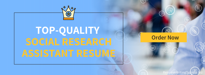 social research assistant writing service