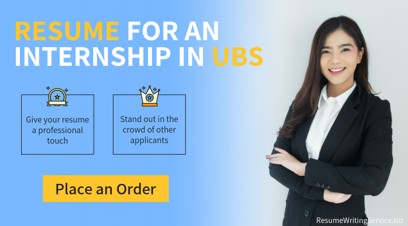 summer internship in ubs