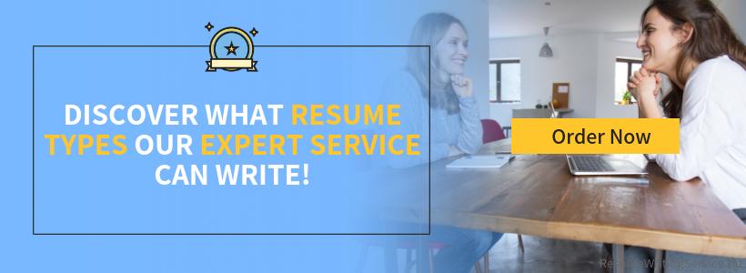 resume writing types